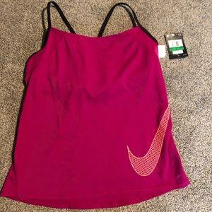 NWT Women's Nike Tankini Swim Top Large
